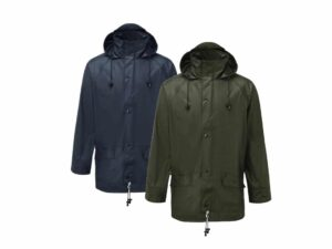 Catalogue Image of a Navy and Olive Fortress waterproof Airflex Jacket