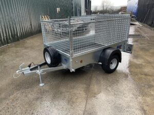 Meredith & Eyre Unbraked Goods Trailer Designed for Gardeners, Landscpaers and Domestic Users