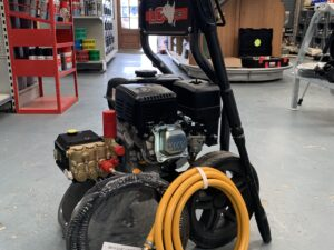 Catalogue image of a LC 12125 Petrol Pressure Washer