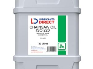 Catalogue image of Lubricants Direct Chainsaw oil ISO 220 20L